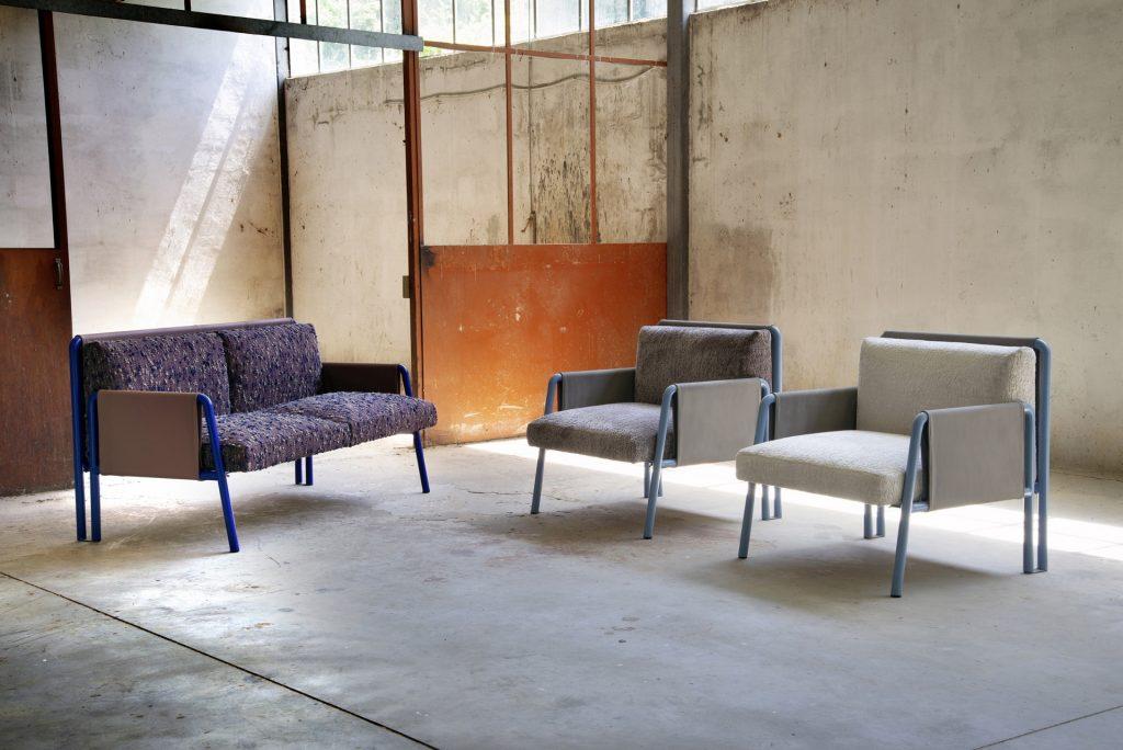 Adrenalina presents SWING collection of Debonademeo design sofas and armchairs
