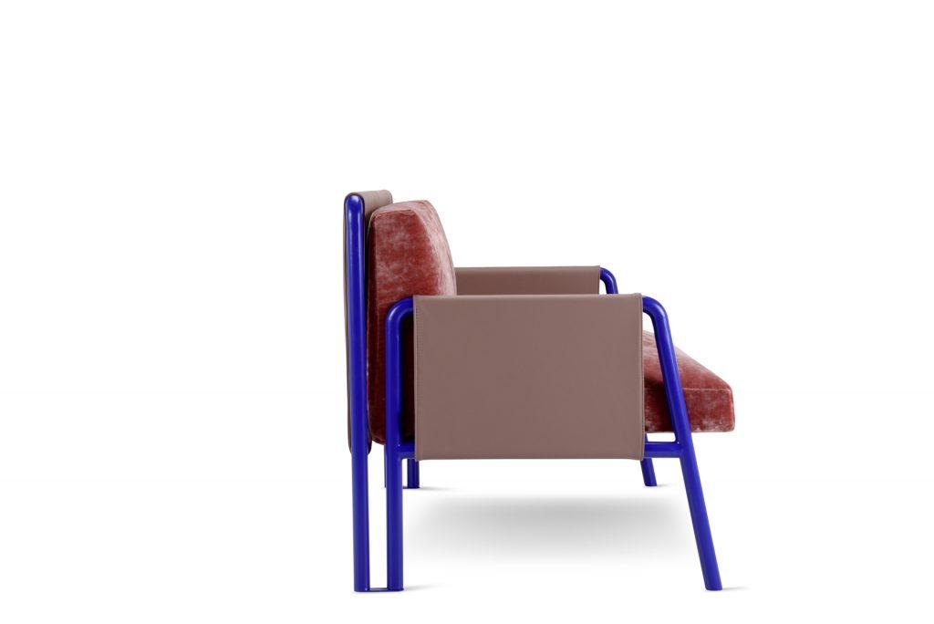 Two seater Swing sofa design Debonademeo for Adrenalina