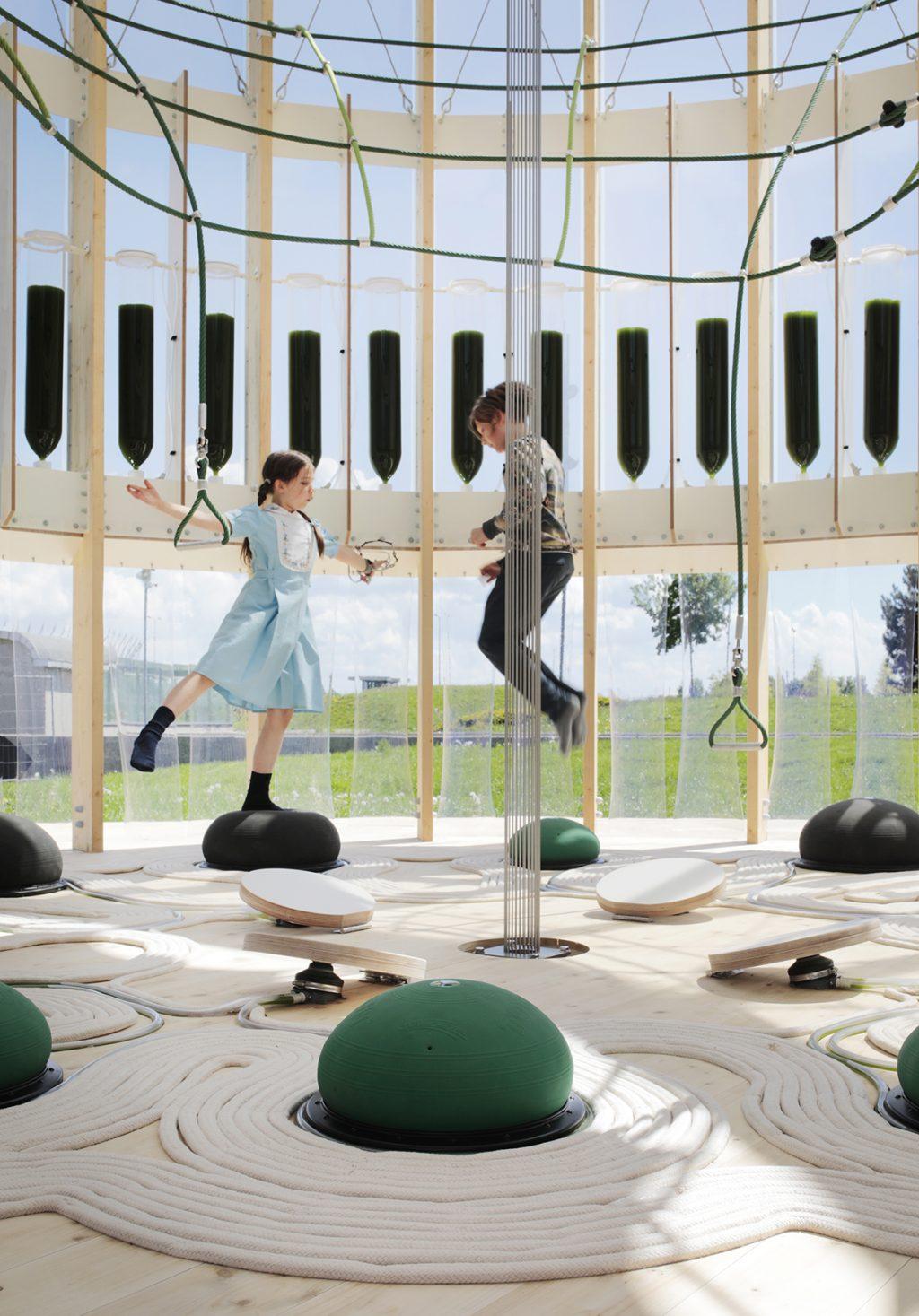 Parco giochi biotecnologico AirBubble - ecoLogicStudio
