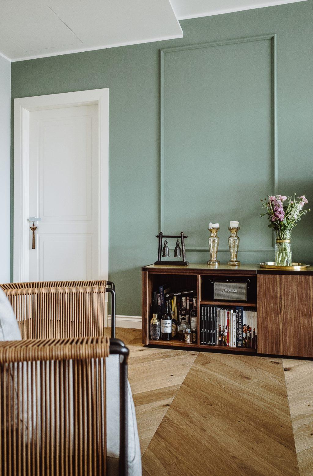 Projek reka bentuk dalaman vintaj dan kontemporari