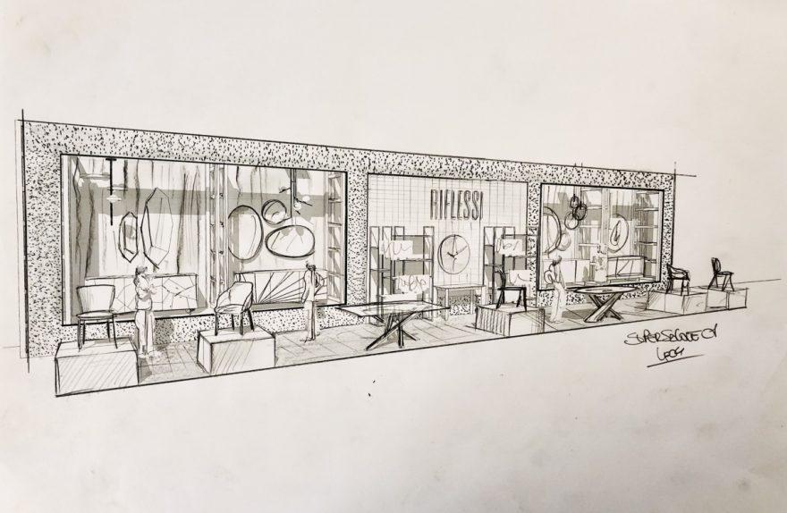 Riflessi supersalone sketch